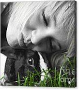 Love The Bunny Acrylic Print