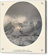 Love The Mountains... Acrylic Print