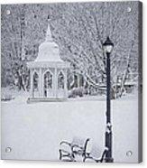 Love Through The Winter Acrylic Print