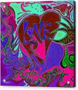 Love Triumphant 3of3 V2 Acrylic Print by Kenneth James