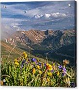 Loveland Pass Summer Acrylic Print