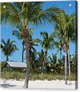 Lovely Beach On Key West East Side Acrylic Print