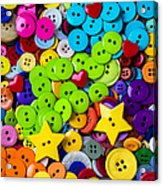 Lovely Buttons Acrylic Print