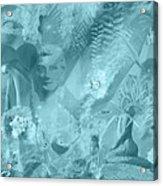 Lovely Mayhem - Ice Blu Acrylic Print