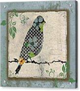 Lovely Song Bird-a Acrylic Print