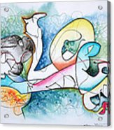 Lover Acrylic Print