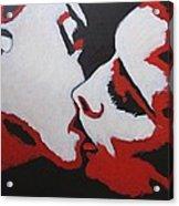 Lovers - Kiss 8 Acrylic Print