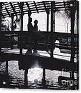 Lovers Lane Acrylic Print