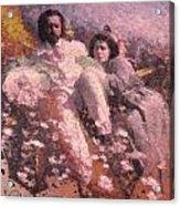 Lovers On The Beach Acrylic Print