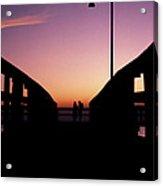 Lovers' Pier At Lake Ponchartrain Acrylic Print
