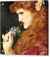 Loves Shadow, 1867 Acrylic Print