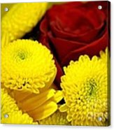 Loving Yellow Acrylic Print