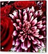 Lovr Flowers Acrylic Print