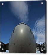 Low Angle View Of A C-17 Globemaster Acrylic Print