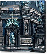 Low Angle View Of A Church, Berliner Acrylic Print