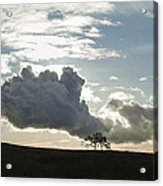 Low Clouds Acrylic Print