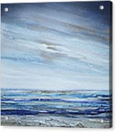 Low Newton Beach Rhythms And Textures 3 Acrylic Print by Mike   Bell