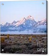 Low Sunrise Clouds Acrylic Print