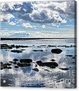 Low Tide At Lyme Regis 2 Acrylic Print