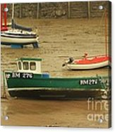 Low Tide Blues Acrylic Print