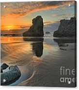 Low Tide Giants Acrylic Print by Adam Jewell