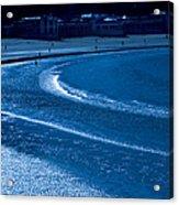 Low Tide In Blue Acrylic Print