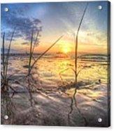 Low Tide In Crystal Beach Acrylic Print