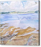 Low Tide - Penobscot Bay Acrylic Print