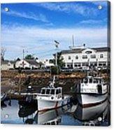 Low Tide Plymouth Ma Acrylic Print