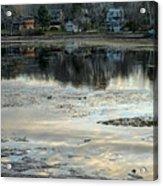 Low Water At Lake Garfield Acrylic Print