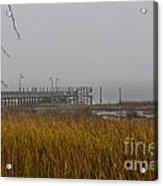 Lowcountry Marsh Fog Acrylic Print