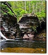 Lower Adams Falls Acrylic Print