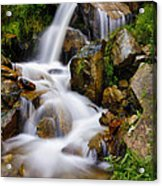 Lower Bridal Veil Falls 4 Acrylic Print