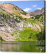 Lower Crater Lake Acrylic Print