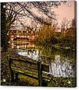 Lower Denford Hungerford Acrylic Print