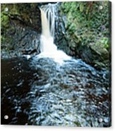 Lower Fall Puck's Glen Acrylic Print