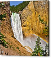 Lower Falls From Uncle Toms Trail Acrylic Print