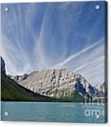 Lower Kananaskis Lake Acrylic Print