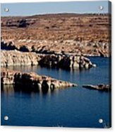 Lower Level Lake Powell Acrylic Print