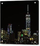 Lower Manhattan 2015 Acrylic Print