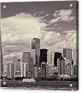 Lower Manhattan Skyline 2 Acrylic Print