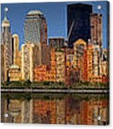Lower Manhattan Skyline Acrylic Print