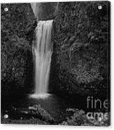 Lower Multnomah Falls Acrylic Print