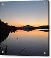 Lower Saranac Lake Acrylic Print