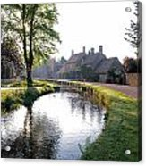 Lower Slaughter Acrylic Print