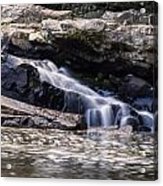 Lower Swallow Falls Stairsteps Acrylic Print