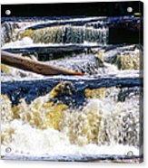 Lower Tequamenon Falls Acrylic Print