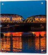 Lower Trenton Bridge Acrylic Print