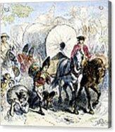 Loyalists & British, 1778 Acrylic Print