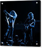 Ls Spo #18 In Blue Acrylic Print